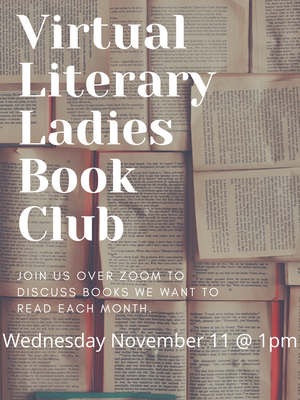 1st Virtual Literary Ladies Book Club