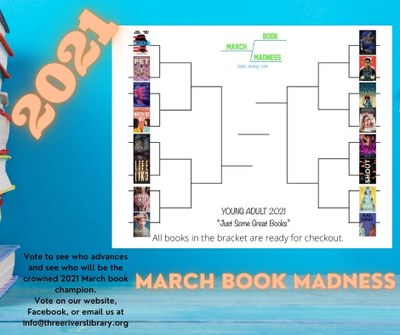 2021 March Book Madness Challenge