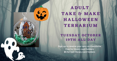 Adult Halloween Terrarium