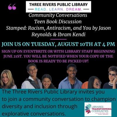 Community Conversations Book Talk: Stamped