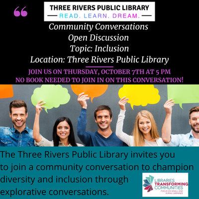 Community Conversations: Open Discussion Night