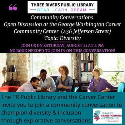 Community Discussions: Adult Open Discussion on Diversity