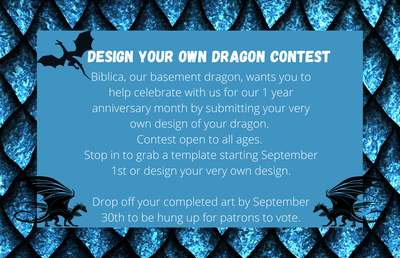 Design Your Own Dragon Contest!