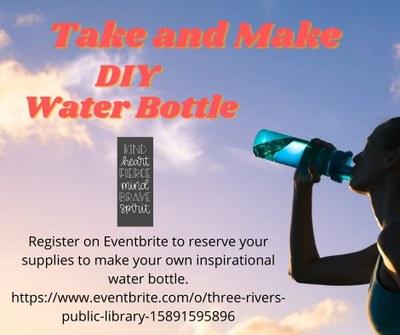 DIY Cricut Water Bottle