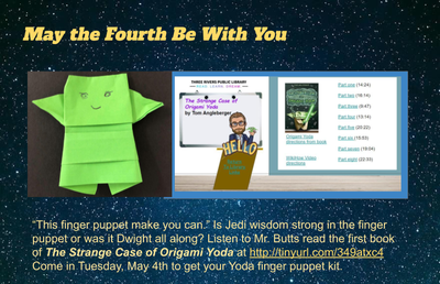 Make Your Own Origami Yoda and Read Aloud