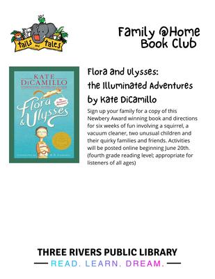 Flora & Ulysses Book Club Party