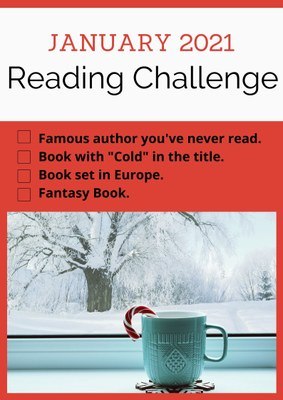 Adult January Reading Challenge