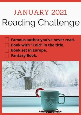 Adult January Reading Challenge