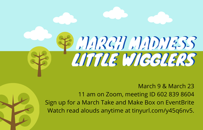 "Little Wigglers: ""March Madness...with Noodles!"""