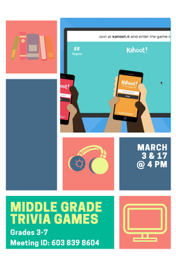 Middle Grade Zoom/Kahoot Games
