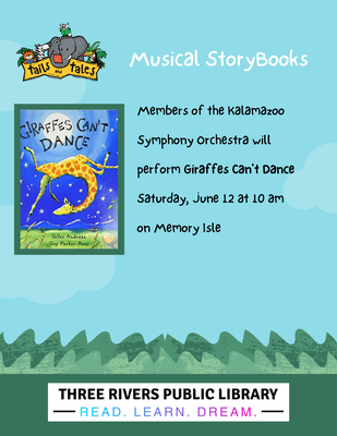 Musical Storybook: Giraffes Can't Dance with the Kalamazoo Symphony Orchestra