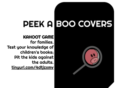Peek-a-boo Covers 2: A Kahoot Game for Families