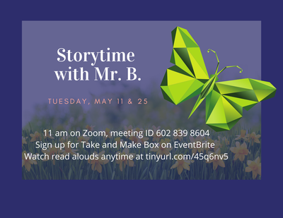 Story Time with Mr. B