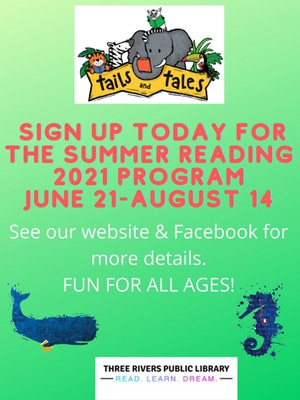 Tails & Tales Summer Reading!