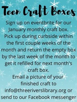 Teen Craft Box