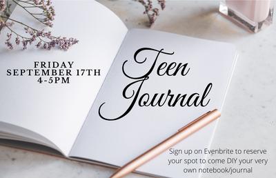 Teen DIY Journal