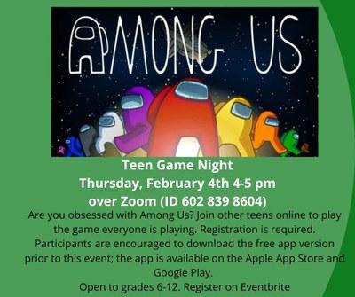 Teen Gaming: Among Us