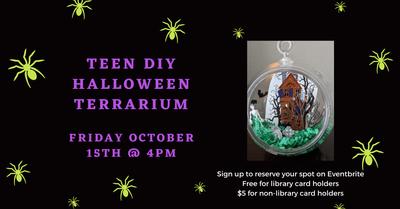 Teen Halloween Terrarium