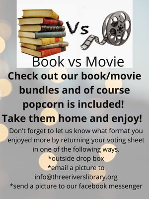The Book Vs. The Movie: You Decide!