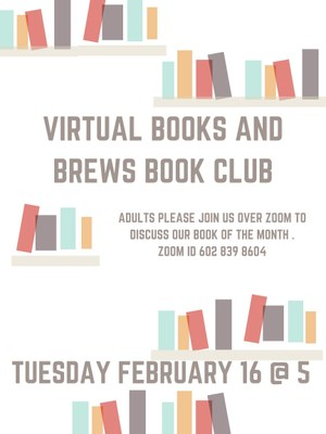 Virtual Books & Brews