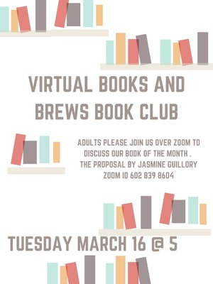 Virtual Books & Brews